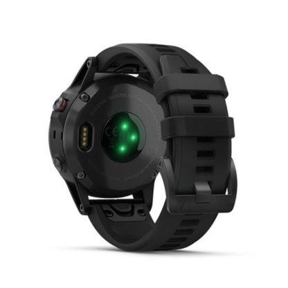 fēnix® 5 Plus Sapphire czarny z czarnym paskiem