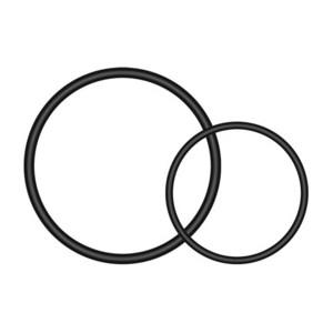 Podkładki okrągłe do uniwersalnego uchwytu 90° Varia™ na sztycę