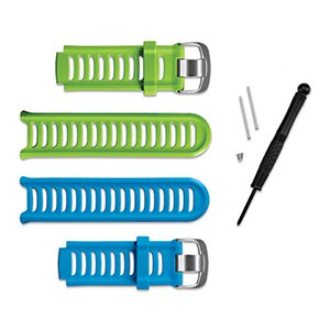 Paski Forerunner® 910XT zielone i niebieskie