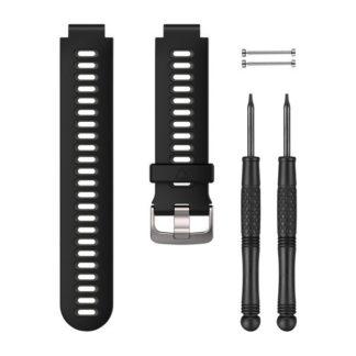 Czarno szary pasek do zegarka Forerunner® 735XT