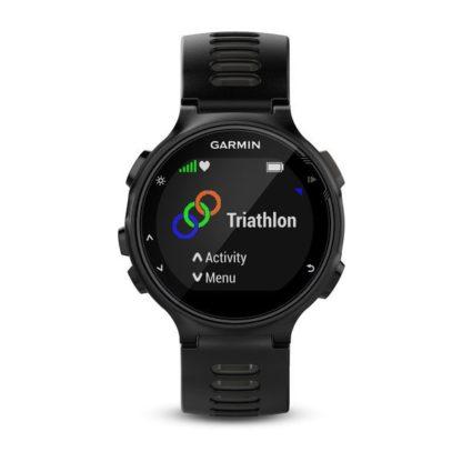Forerunner® 735XT czarno szarym z czujnikami do triathlonu