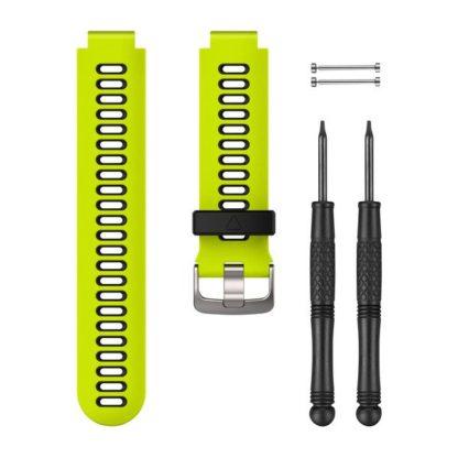Jaskrawożółty czarny pasek do zegarka Forerunner® 735XT