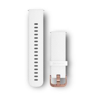 Pasek 20 mm Biały silikonowy