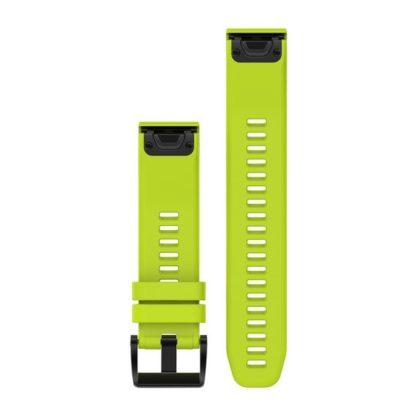 Paski do zegarka QuickFit® 22 Żółty silikonowy