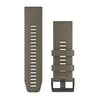 Paski do zegarka QuickFit™ 26 Coyote silikonowy