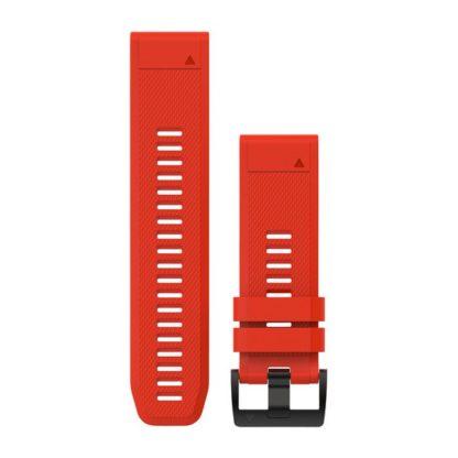 Paski do zegarka QuickFit™ 26 Ognistoczerwony silikonowy
