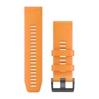 Paski do zegarka QuickFit™ 26 Pomarańczowy silikonowy