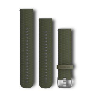 Pasek 20 mm Zielony silikonowy