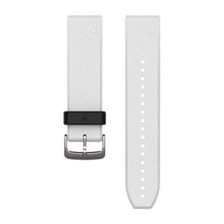 Paski do zegarka QuickFit® 22 Biały silikonowy