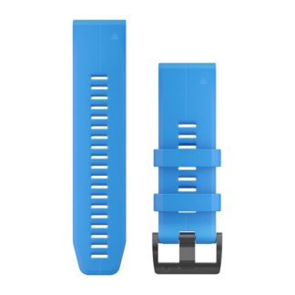 Paski do zegarka QuickFit™ 26 cyjanowy silikonowy