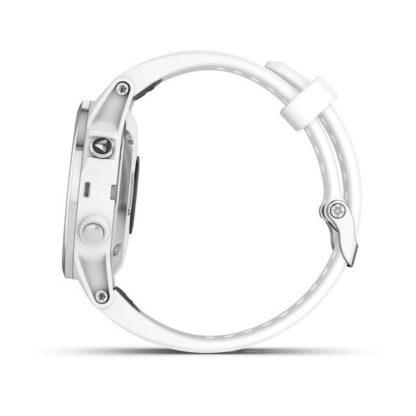 fēnix® 5S Plus Sapphire biały z białym paskiem