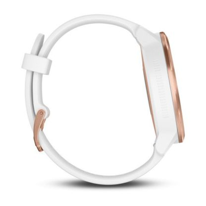 vívoactive® 3  Biały silikon różowo-złoty