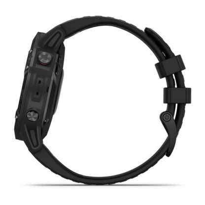 fēnix 6 Pro czarny z czarnym paskiem