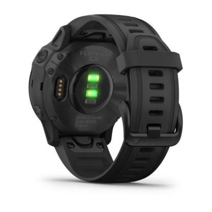fēnix 6S – Pro i Sapphire Czarny z czarnym paskiem