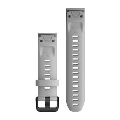 Paski do zegarka QuickFit® 20 Jasnoszary silikonowy