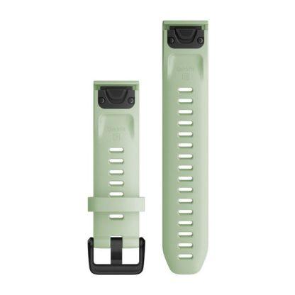 Paski do zegarka QuickFit® 20 Miętowy silikonowy