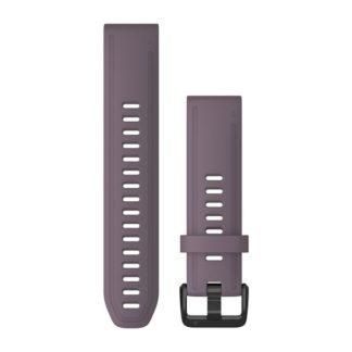 Paski do zegarka QuickFit® 20 Purpurowy silikonowy