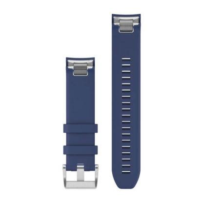 Paski do zegarka QuickFit® 22 Granatowy pasek silikonowy