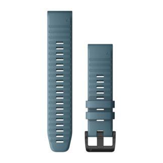 Paski do zegarka QuickFit® 22 Stalowoniebieski silikonowy