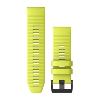 Paski do zegarka QuickFit™ 26 Żółty silikonowy