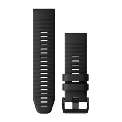Paski do zegarka QuickFit™ 26 Czarny silikonowy