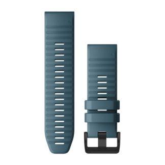Paski do zegarka QuickFit™ 26 Stalowoniebieski silikonowy